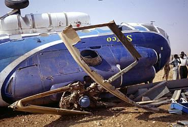 разбит хеликоптер